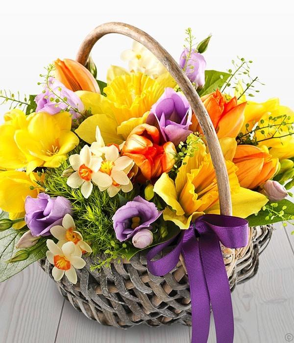 Spring fairy buketbg spring fairy spring fairy basketsbaskets with cut flowers mightylinksfo