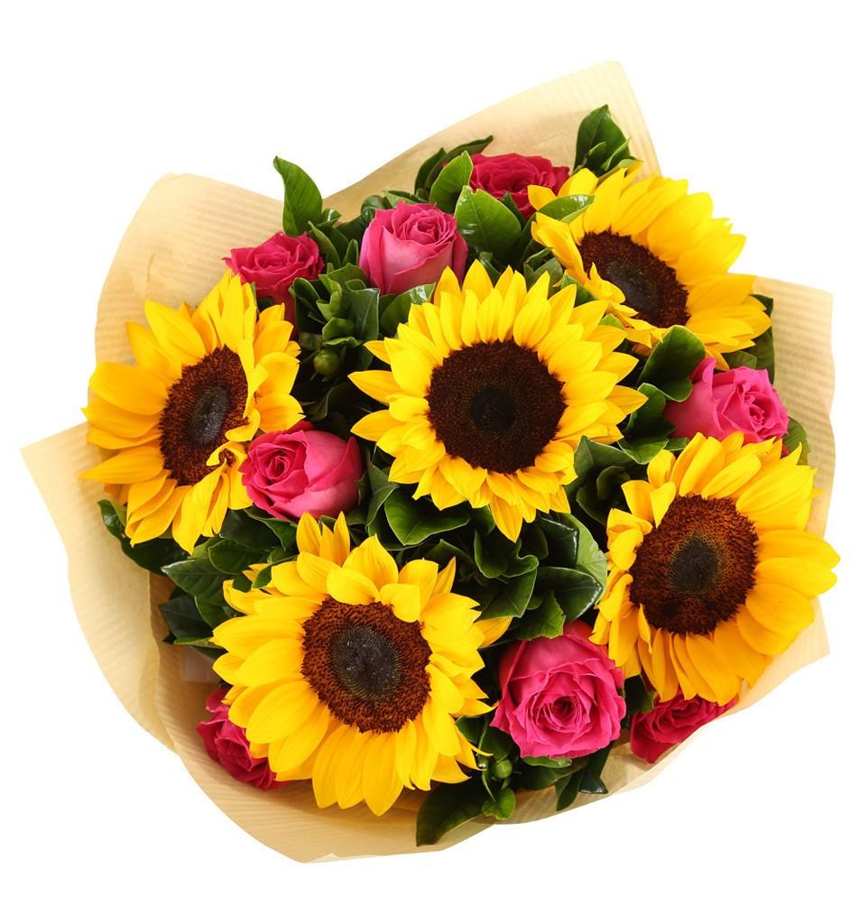 Sunflowers & Roses   BuketBG